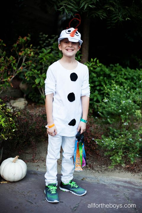 diy disney costumes olaf