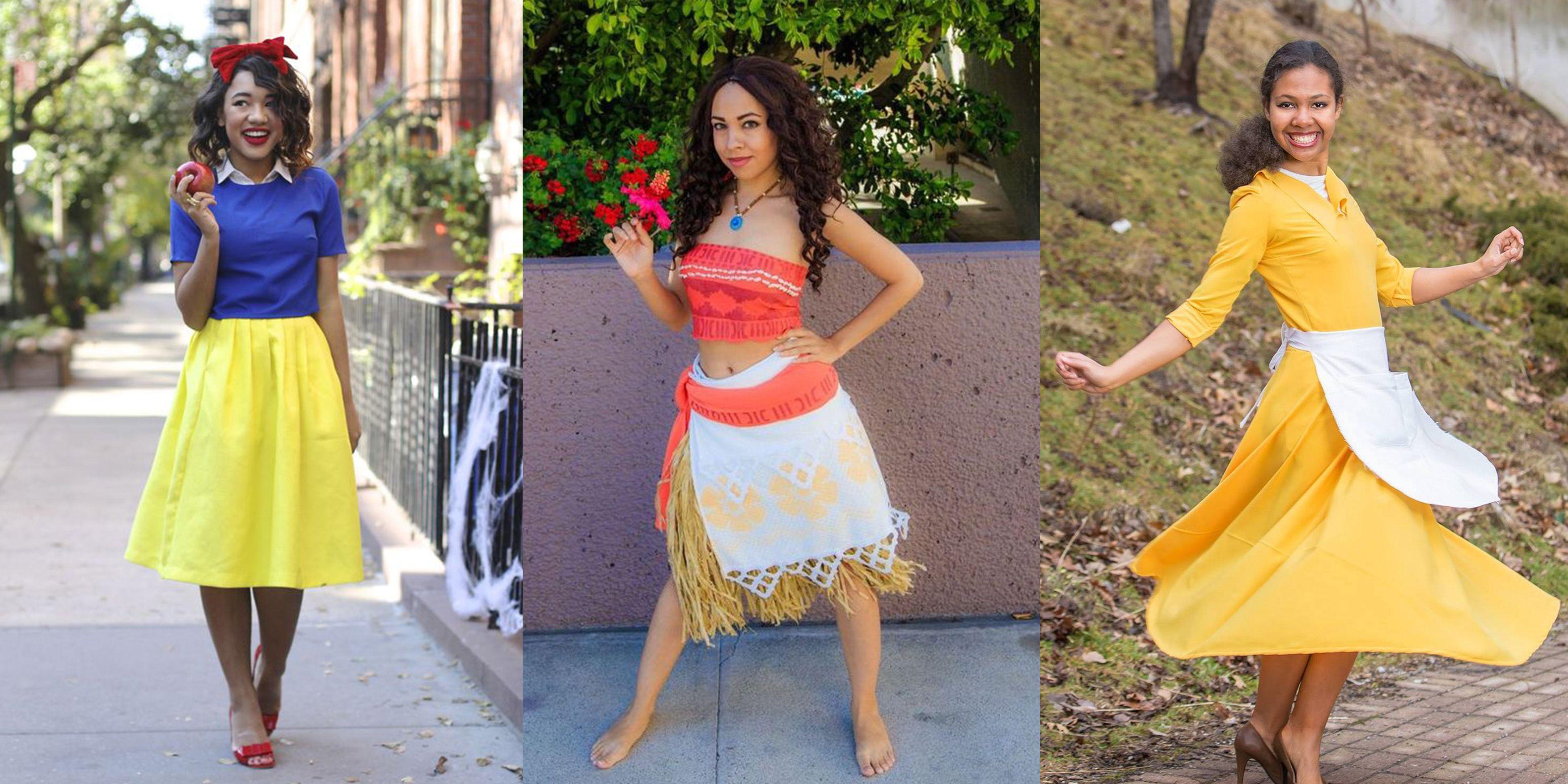 image  sc 1 th 159 & 13 DIY Disney Princess Halloween Costumes - Princess Costume Ideas