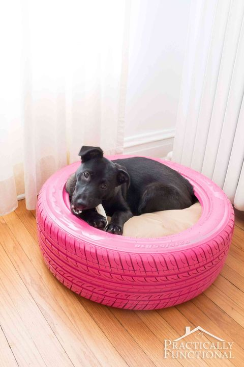 diy dog bed tire