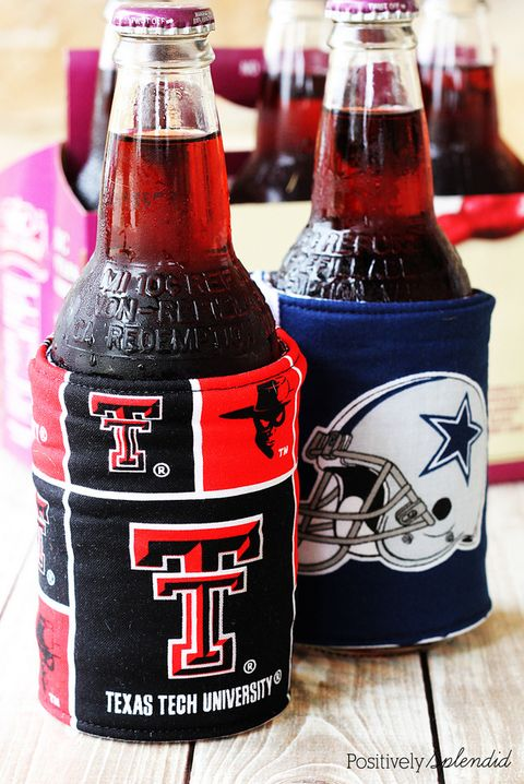 Beer Koozies - Father's Day Crafts