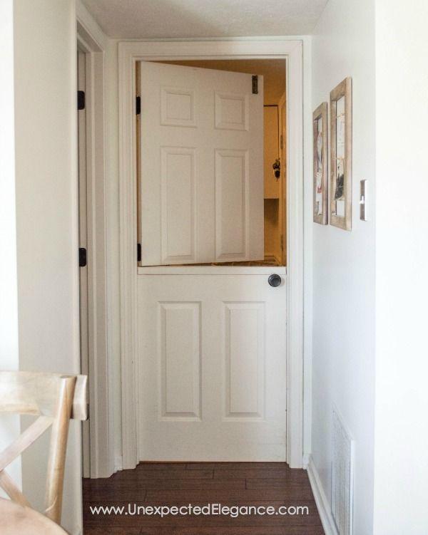 free shipping 24e40 151e3 20 Charming Dutch Doors - Exterior and Interior Half Door Ideas