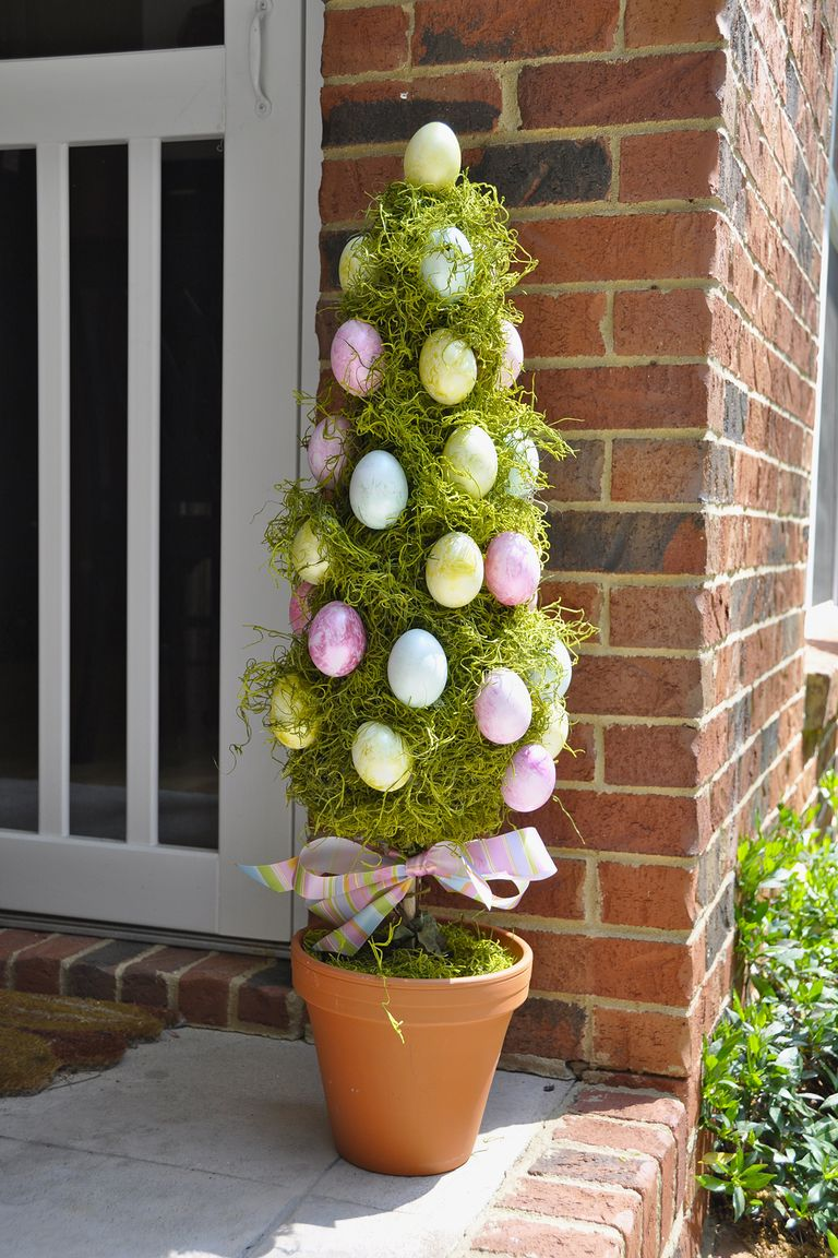 Diy Spring Decor: 10 Easy Outdoor Easter Decorations