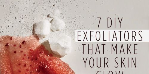 7 DIY Exfoliators That Make Your Skin Glow