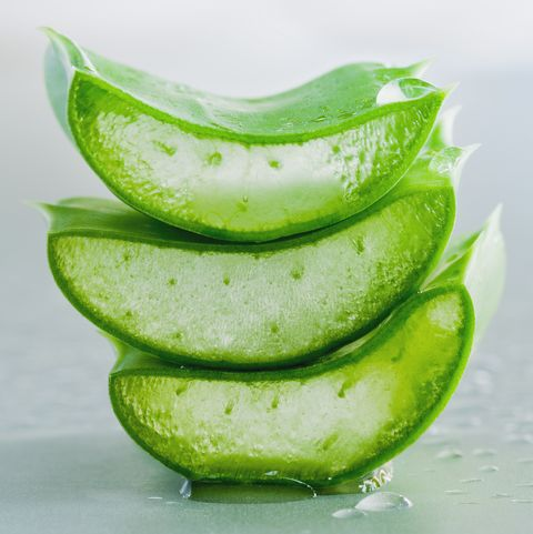 máscara facial diy aloe