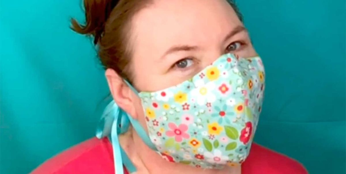 How To Make Fabric Face Masks Diy Pattern To Keep Your Family Safe