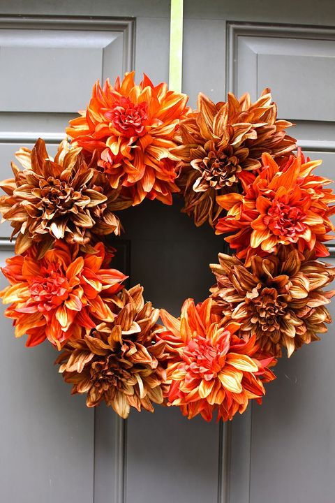 22 Diy Fall Wreaths Easy Ideas For Autumn Wreaths