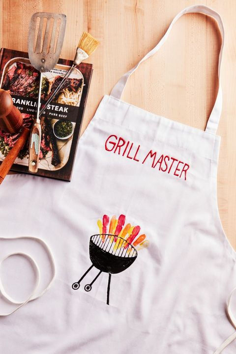 diy fathers day gifts  homemade grilling apron