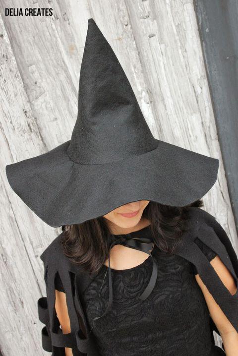 diy felt witch hat diy witch costume