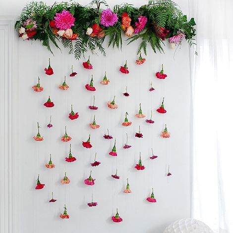 DIY Floral Garland - We Are Scout