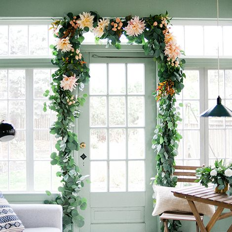 DIY Floral Garland - Wit and Delight