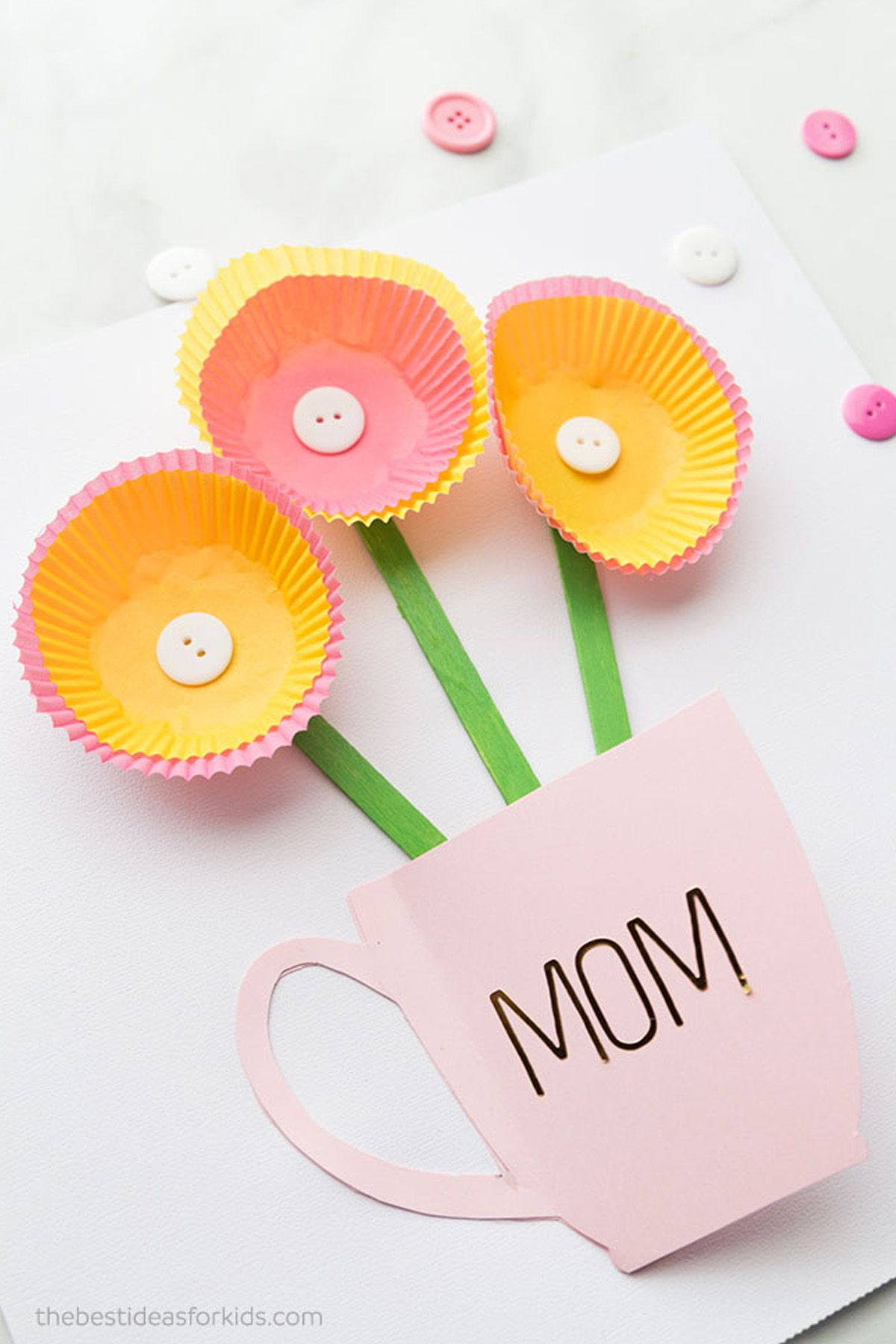 20 Diy Mother S Day Cards Homemade Mother S Day Cards