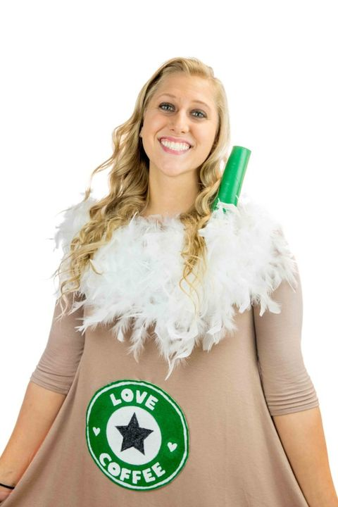 diy starbucks teen halloween costume