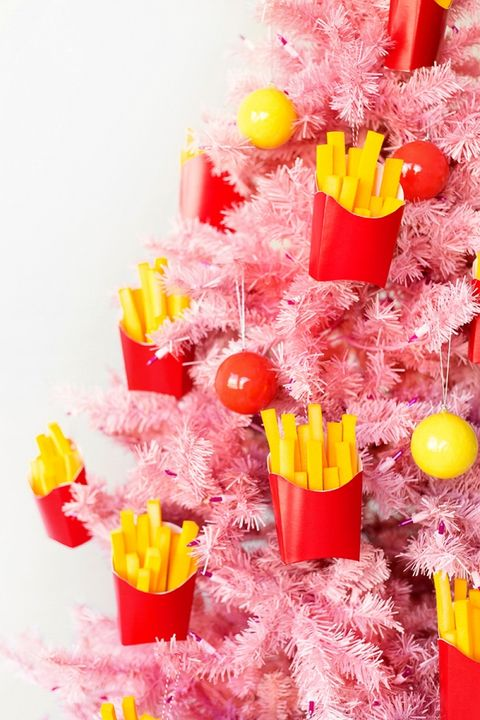 diy french fries ornament christmas gifts