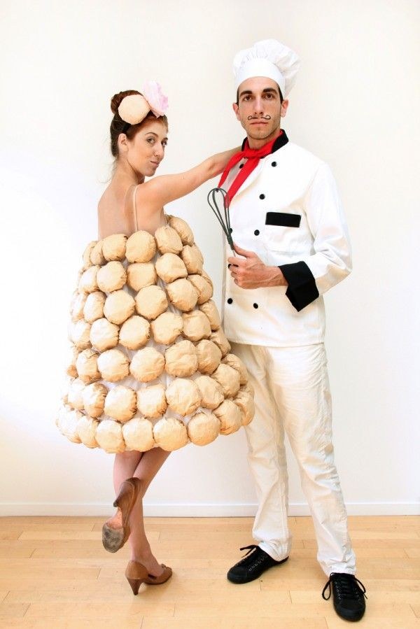 diy couples halloween costume  sc 1 st  Country Living Magazine & 20 DIY Couple Halloween Costumes - Easy Homemade Costume Ideas for ...