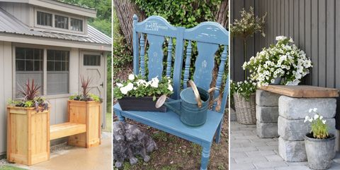 18 diy garden bench ideas free plans for outdoor benches diy garden bench ideas solutioingenieria Images