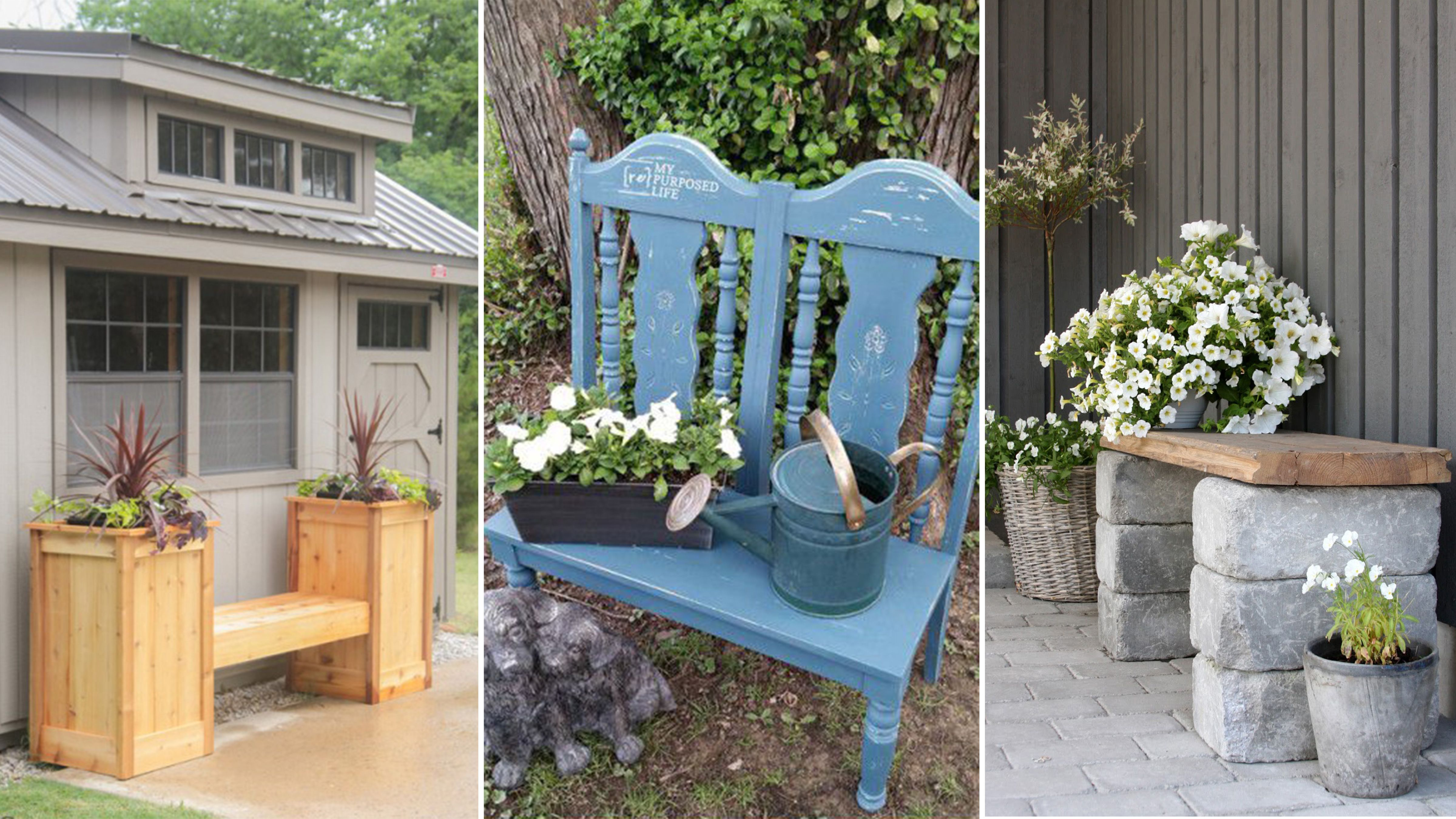 Diy Garden Bench Ideas