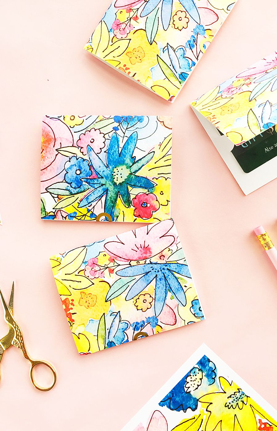 DIY Floral Card Kit