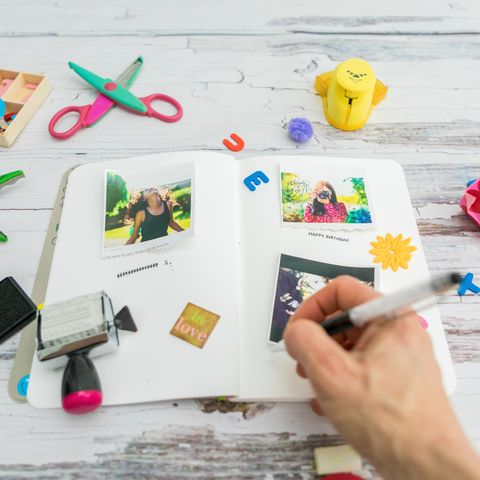 diy gifts for mom scrapbook