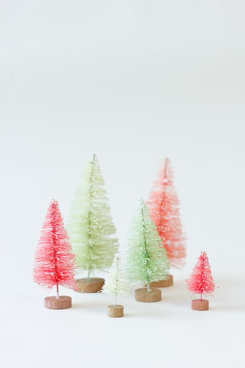 mini tabletop christmas tree ideas