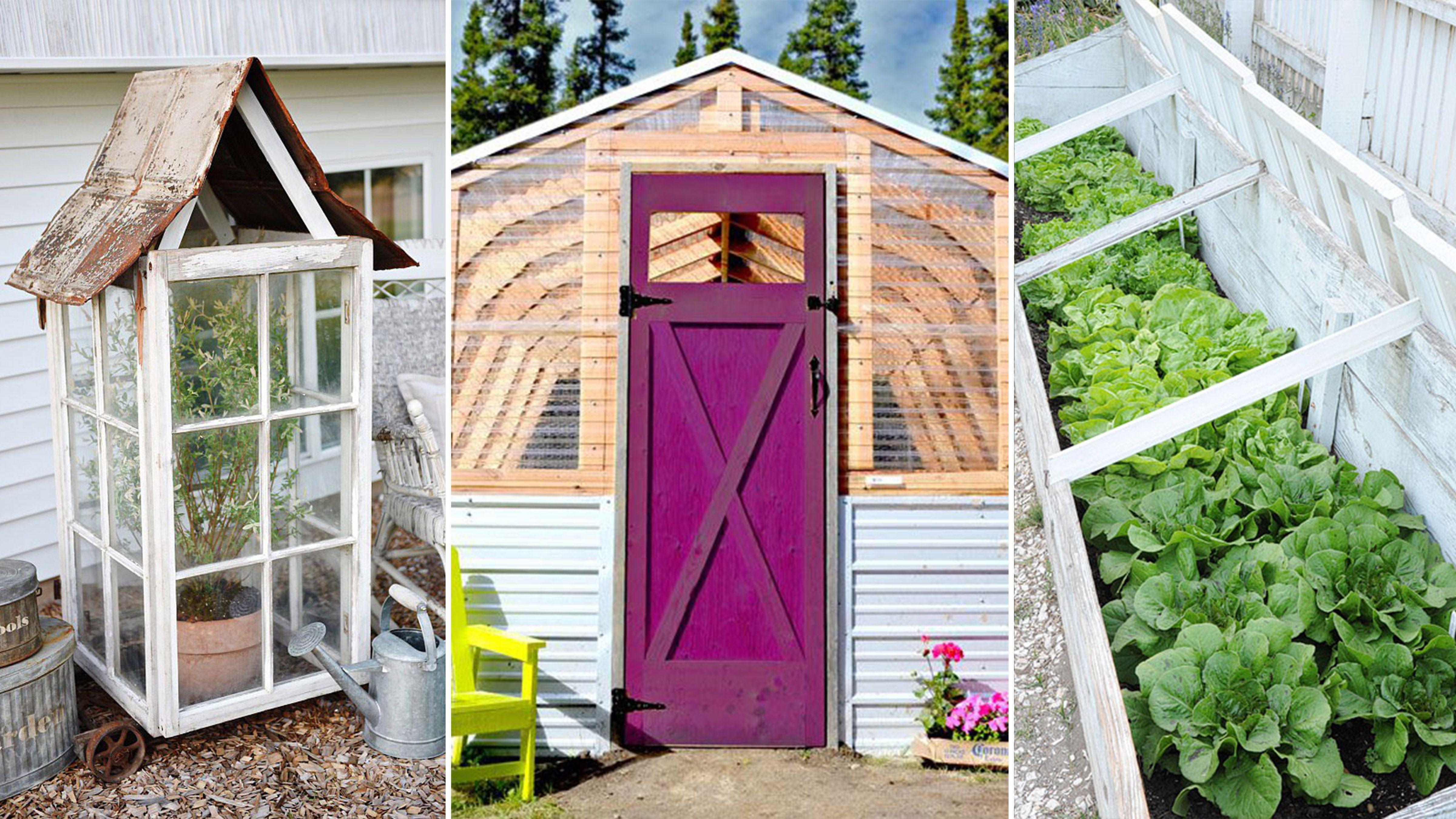 18 DIY Backyard Greenhouses How to Make a Greenhouse