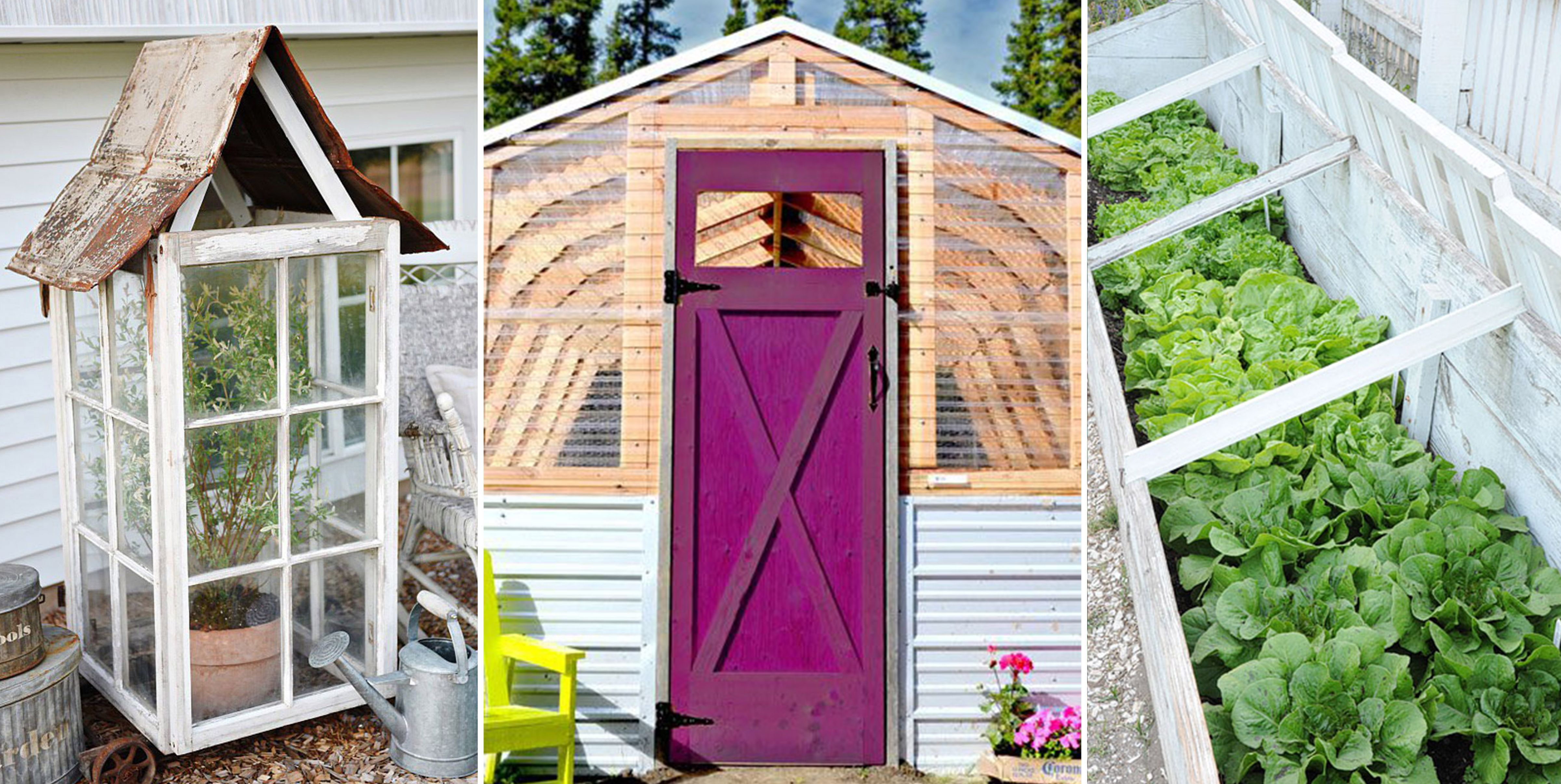 18 DIY Greenhouses That Will Beautify Your Backyard