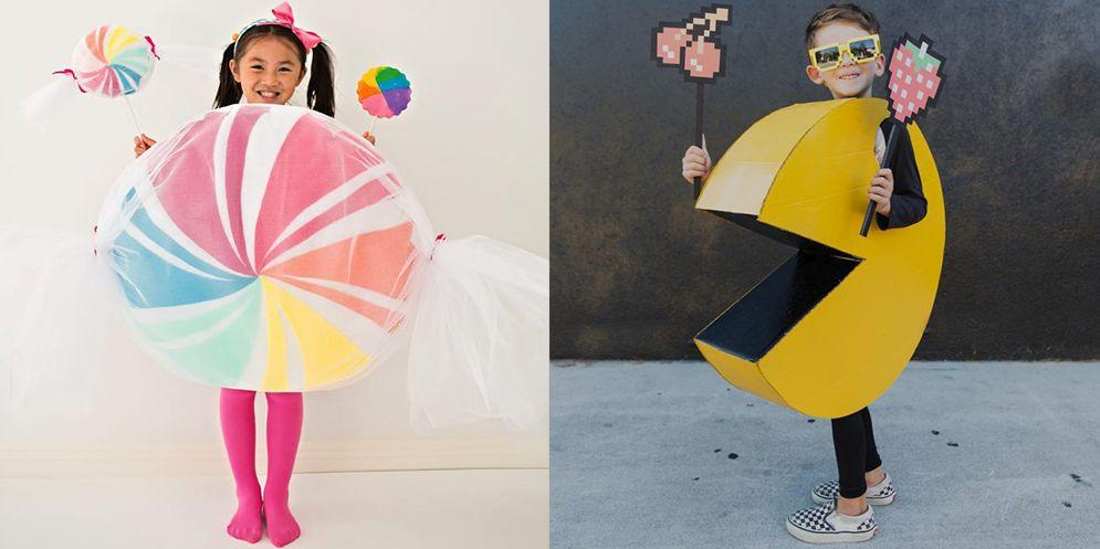 15 Diy Halloween Costume Ideas For Kids Cheap Homemade Costumes