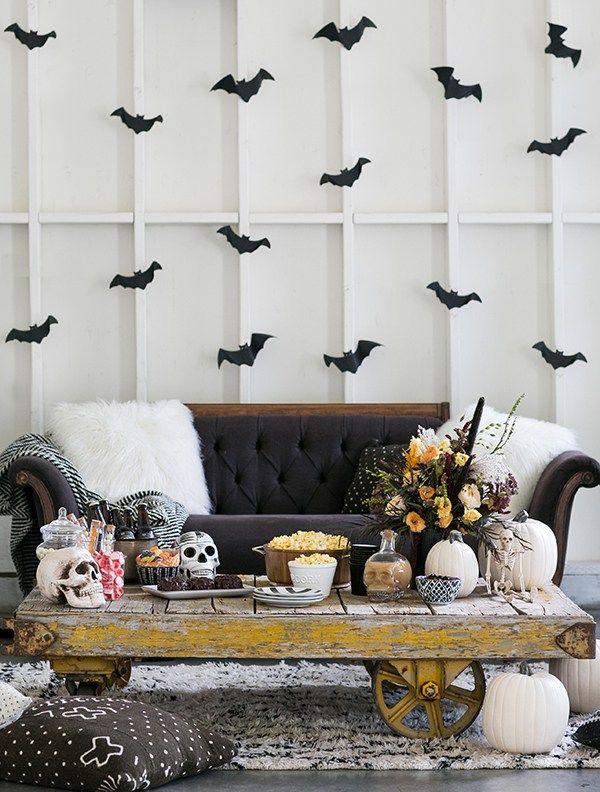 40 DIY Halloween Decorations , Cool Homemade Halloween Decor