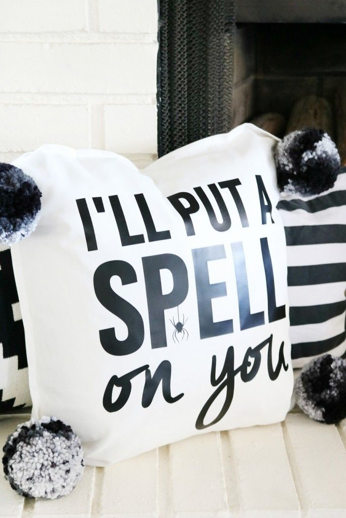 Diy Halloween Decoration Pillow
