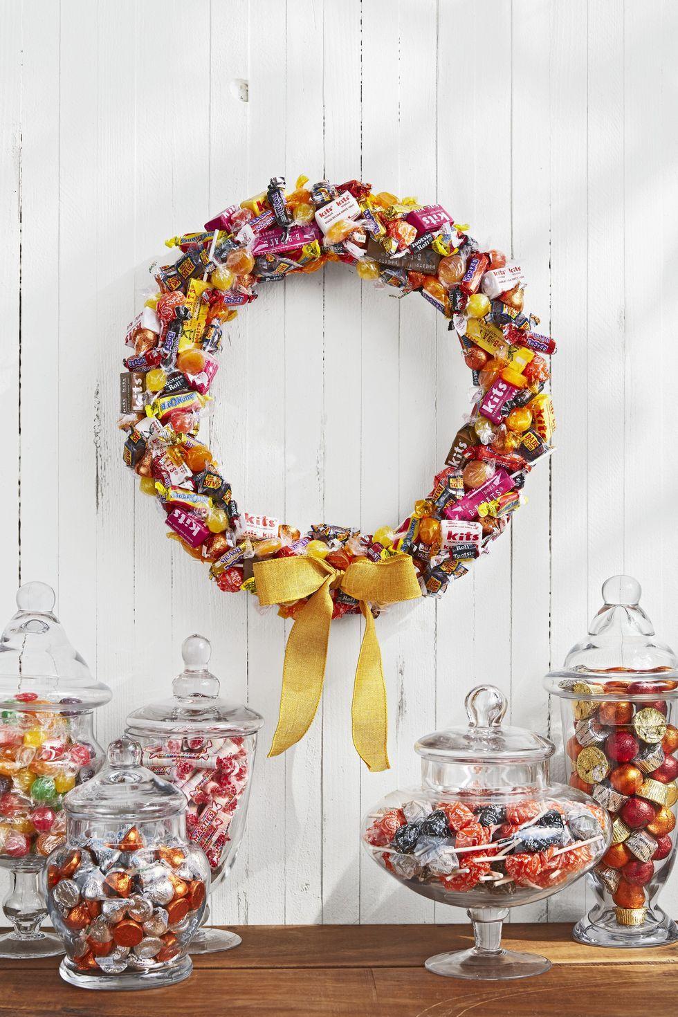 46 Diy Halloween Wreaths How To Make Halloween Door Decorations