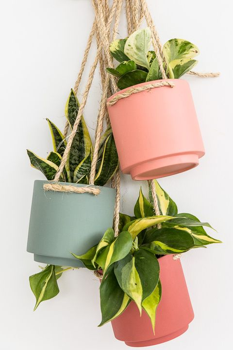 diy hanging planter vertical garden