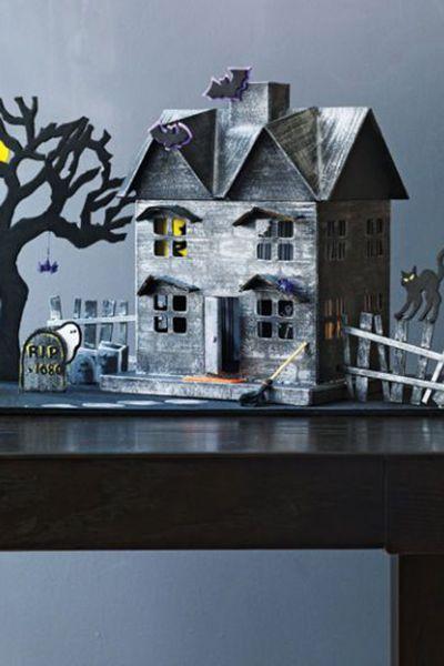 diy haunted house craft