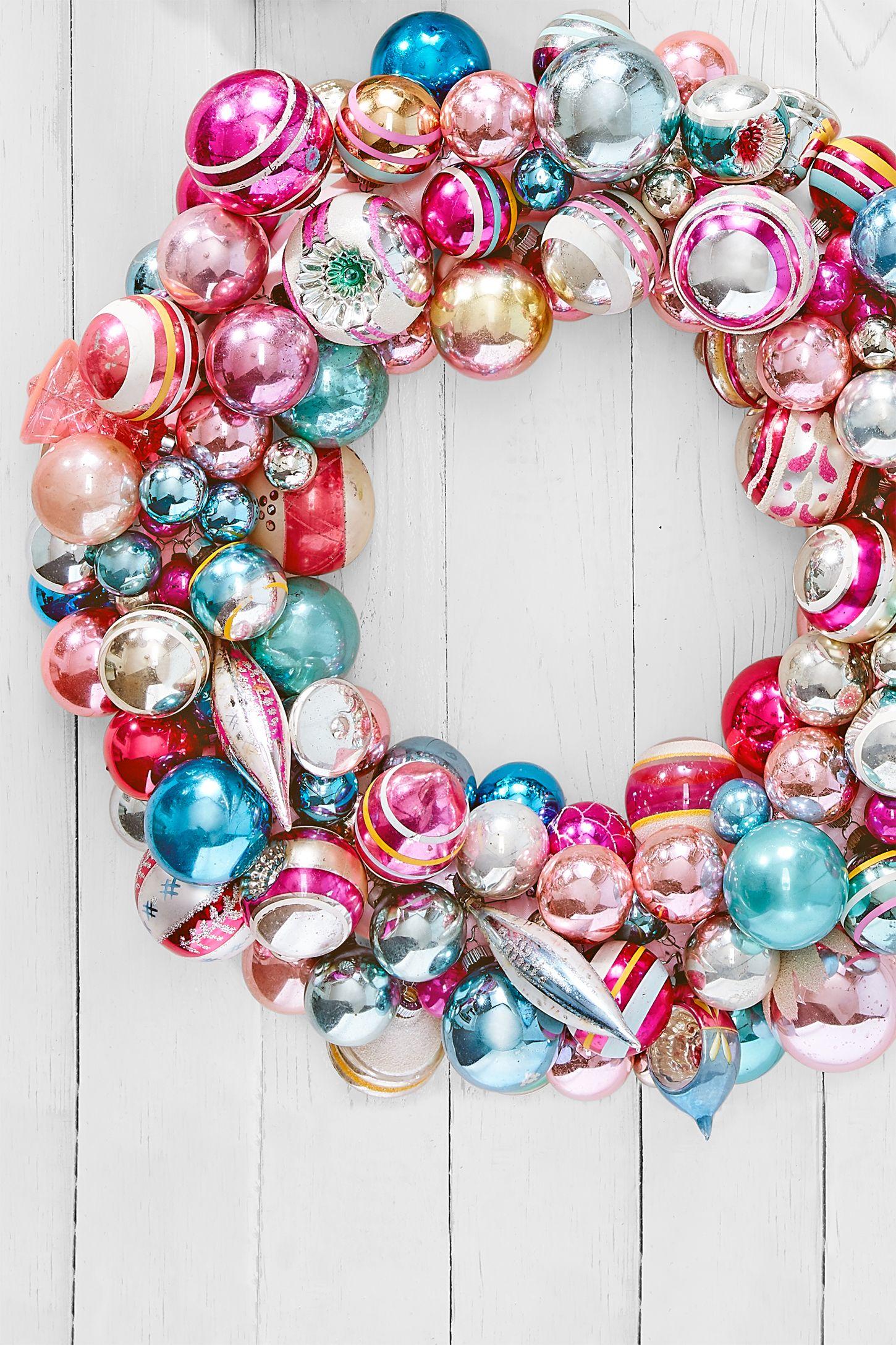 diy homemade christmas decorations wreath