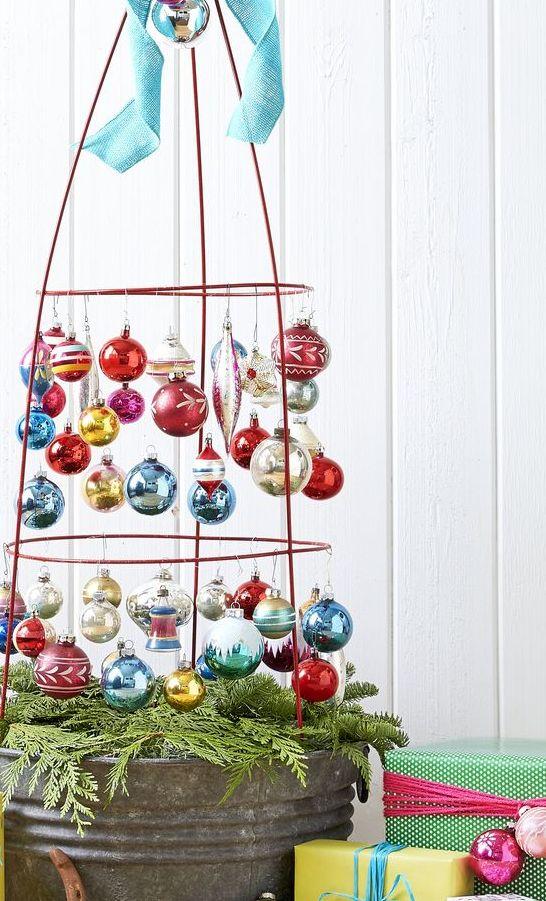 diy homemade christmas decorations tree