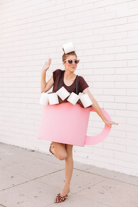 diy hot chocolate costume food halloween costumes
