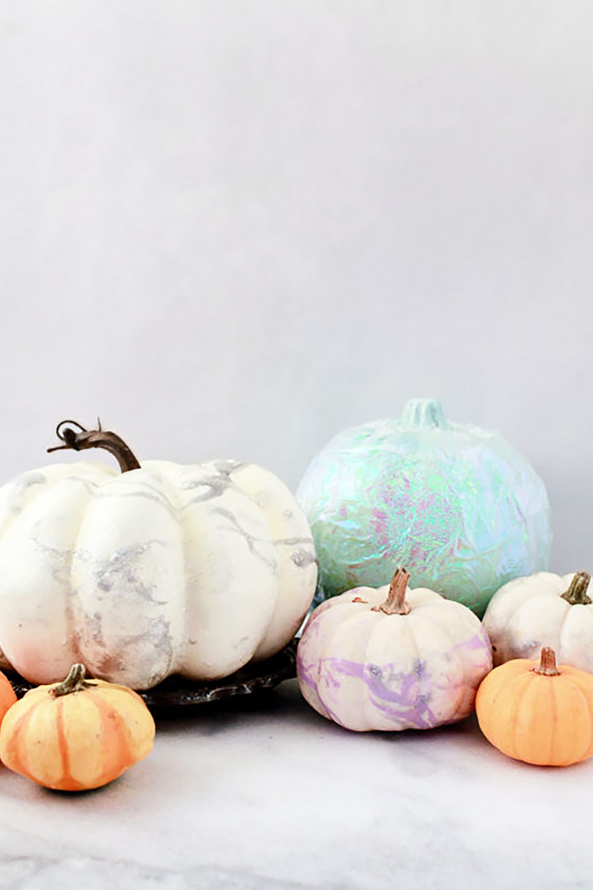 Unicorn Colors Pumpkin Painting Ideas