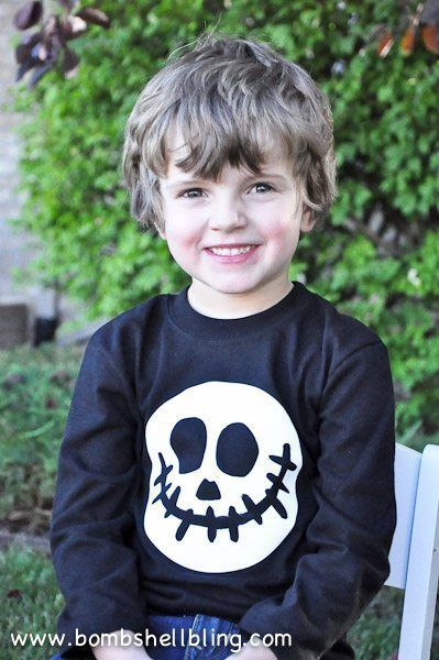 diy jack skellington shirt halloween costume