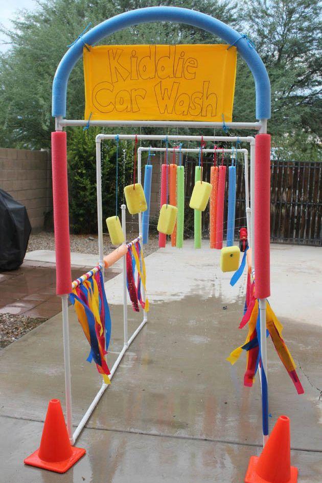 DIY Kid Activities - Kiddie Car Wash