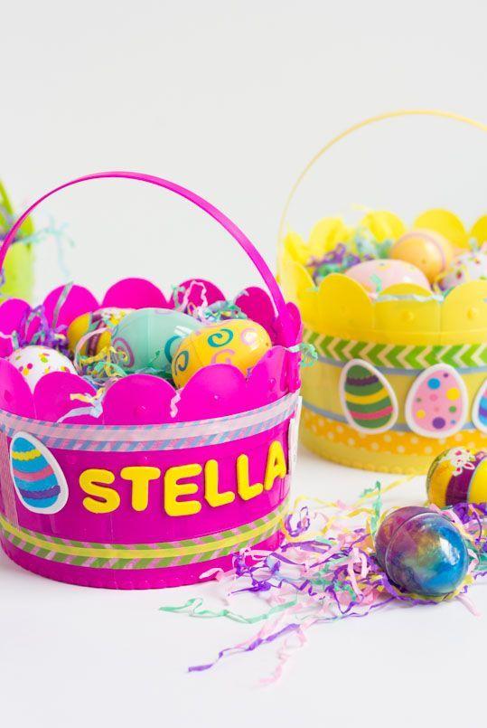 40 Best Easter Basket Ideas Diy Easter Baskets For Kids And Adults