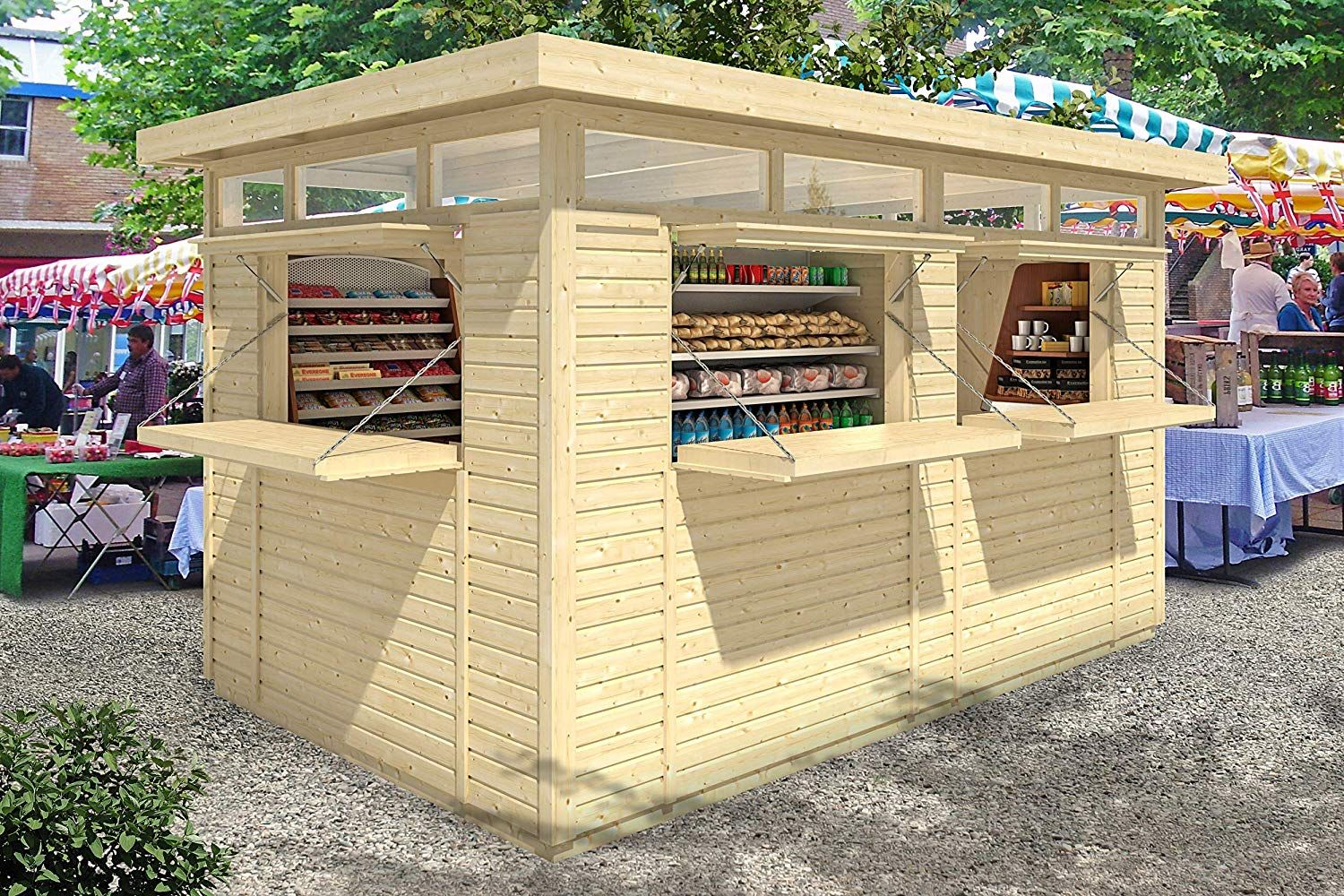 Amazon Is Selling a DIY Prefab Kiosk That Would Make the Best Backyard Bar