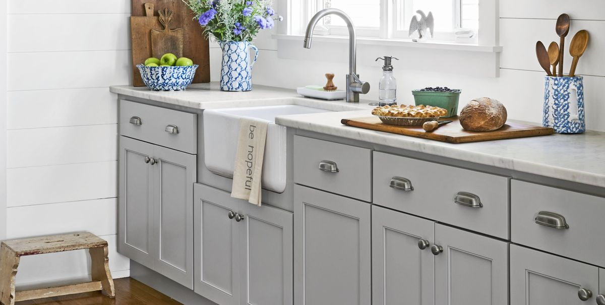 Refreshing Your Kitchen Cabinets? Get Started With These Gorgeous DIY on diy rustic kitchen cabinet doors, small rustic kitchen island ideas, diy rustic cottage kitchens, diy rustic kitchen backsplash ideas,