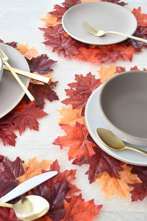 fall leaf craft diy autumn leaf placemat