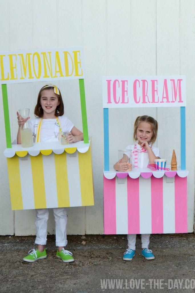 lemonade ice cream stand halloween costumes