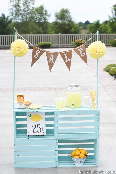 lemonade stand backyard diy project