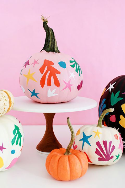 Diy Matisse Inspired Pumpkin Painting Idea