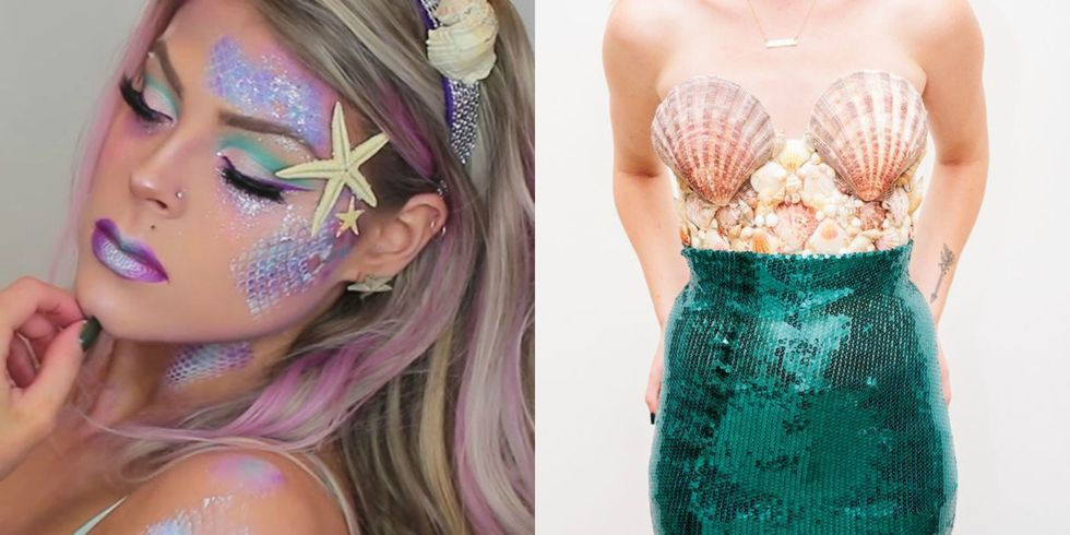 These 4 Unique DIY Mermaid Costumes Will Make a Splash This Halloween