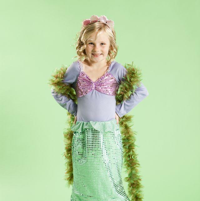 mermaid costume for child