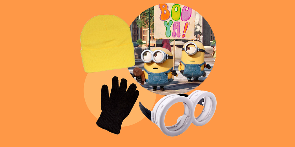 The Easiest DIY Minions Halloween Costume Ever