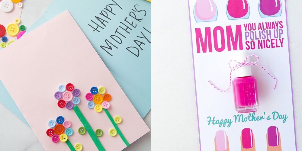 Fine 20 Diy Mothers Day Cards Homemade Mothers Day Cards Funny Birthday Cards Online Necthendildamsfinfo