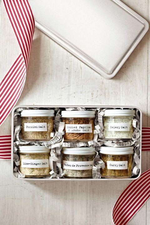 diy mothers day gifts flavored salt gift set