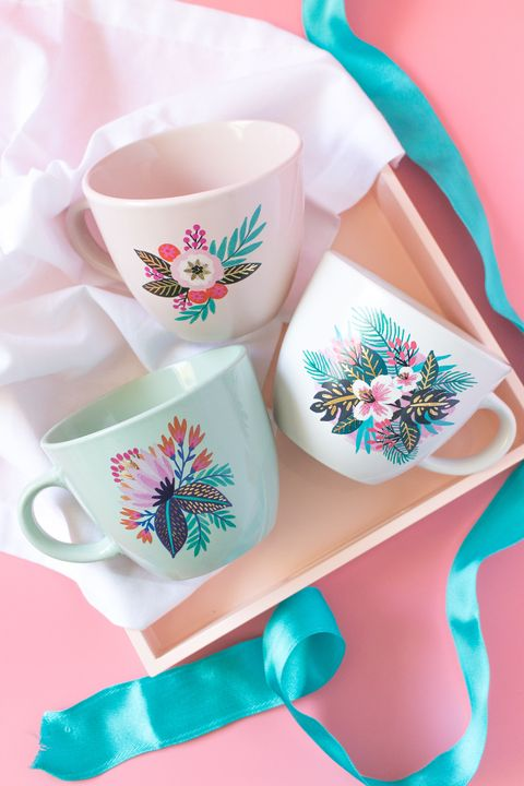 diy mothers day gifts mugs
